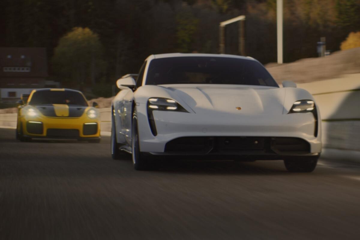 Porsche Taycan Werbeclip