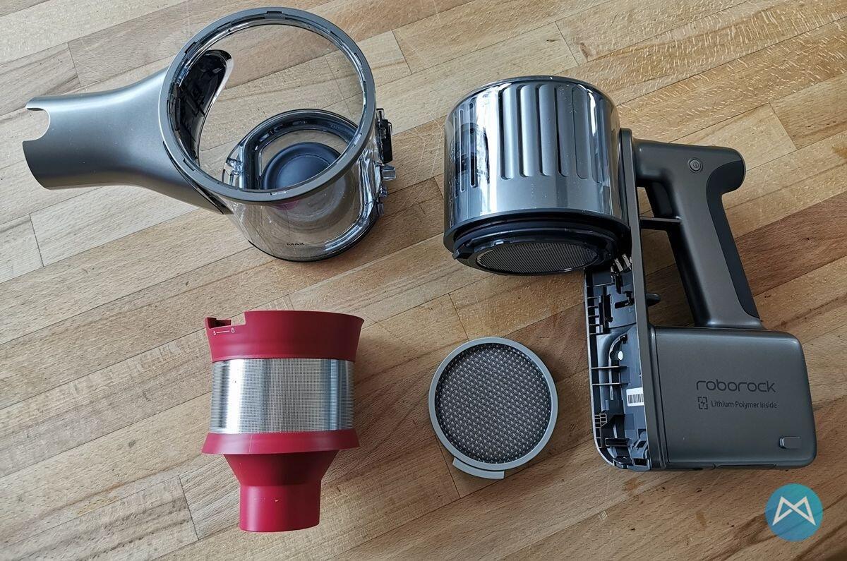 Roborock H6 Akku Handstaubsauger Disassembling Main Device