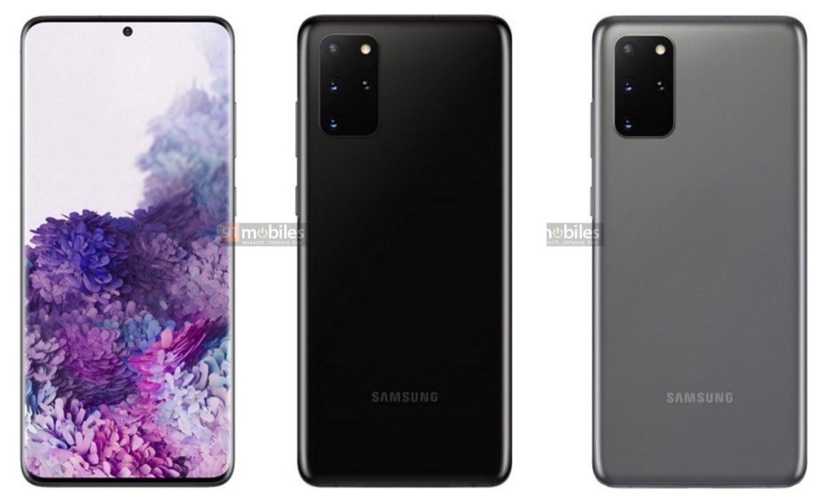 Samsung Galaxy S20 Plus Leak Presse
