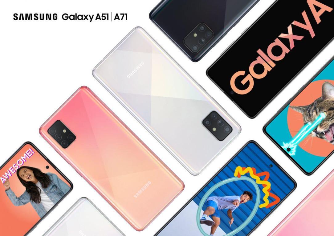 Samsung Galaxy A51 A71 Header