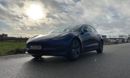 Tesla Model 3 Test Header