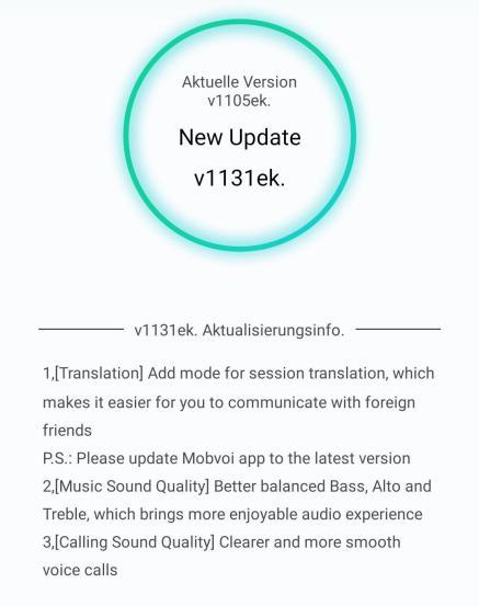 Ticpods 2 Pro Firmware Update