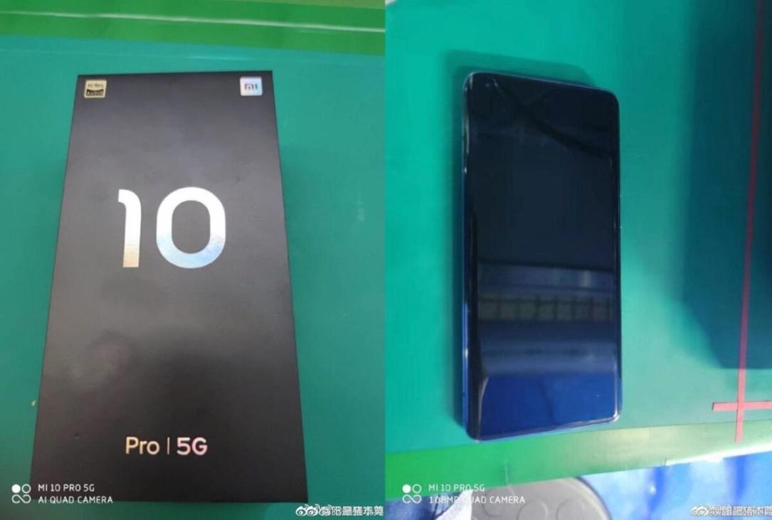 Xiaomi Mi 10 Pro Leak Box