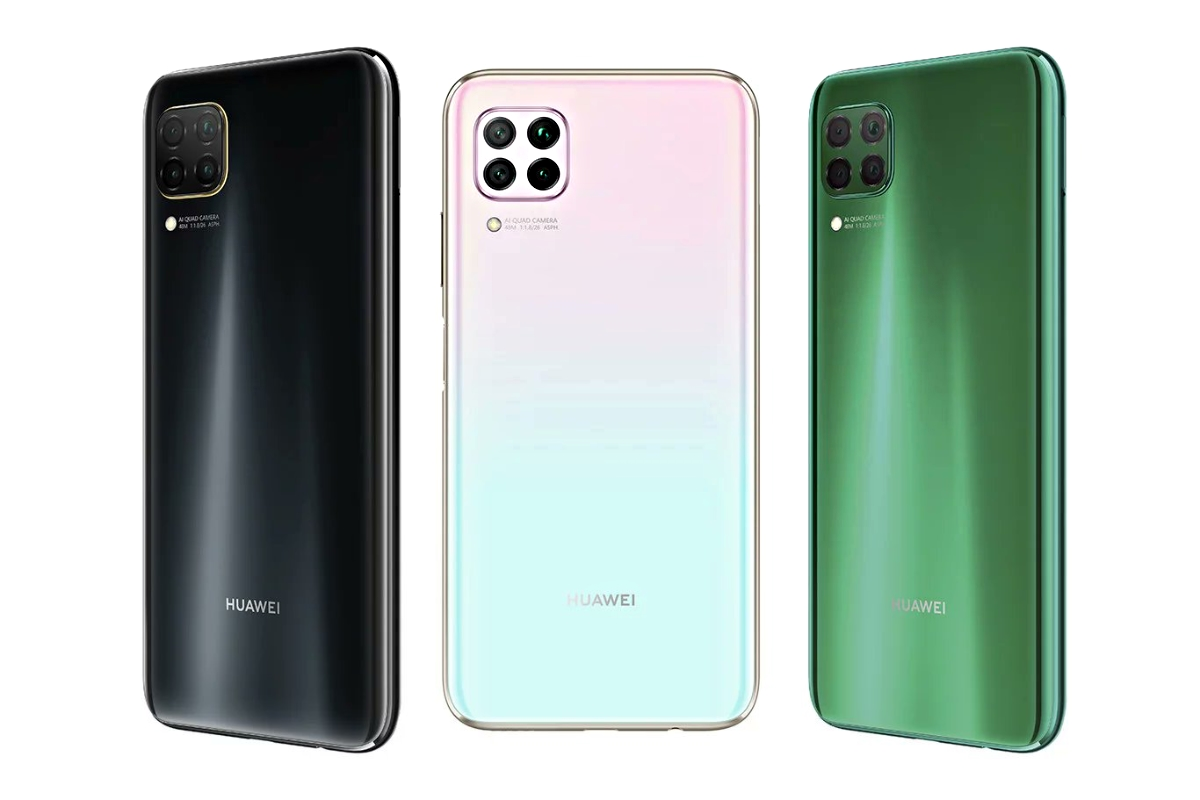 Huawei P40 Lite Farben