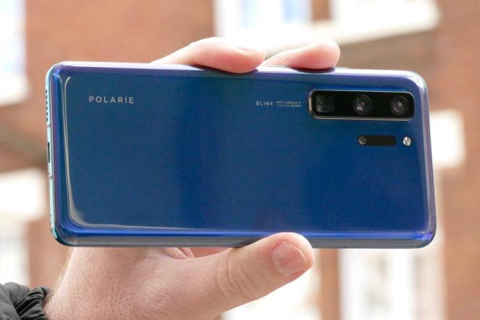 Huawei P40 Prototyp Back