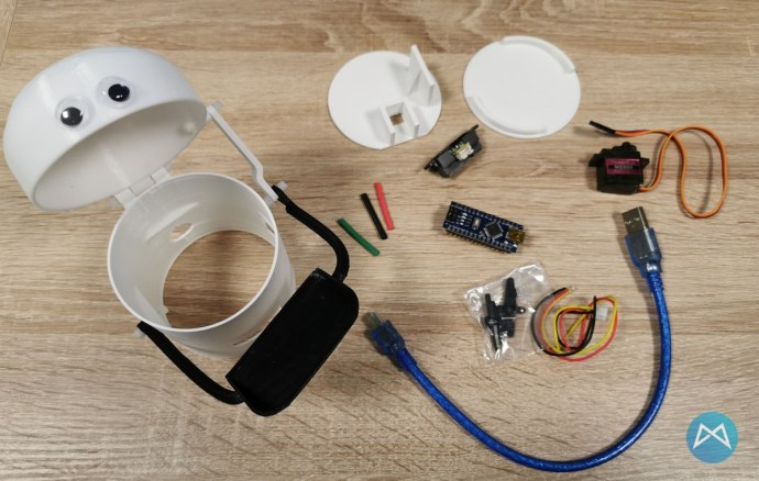 Hungry Robot Einzelteile Mit 3d Druck