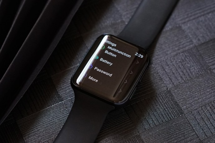 Oppo Smartwatch Display