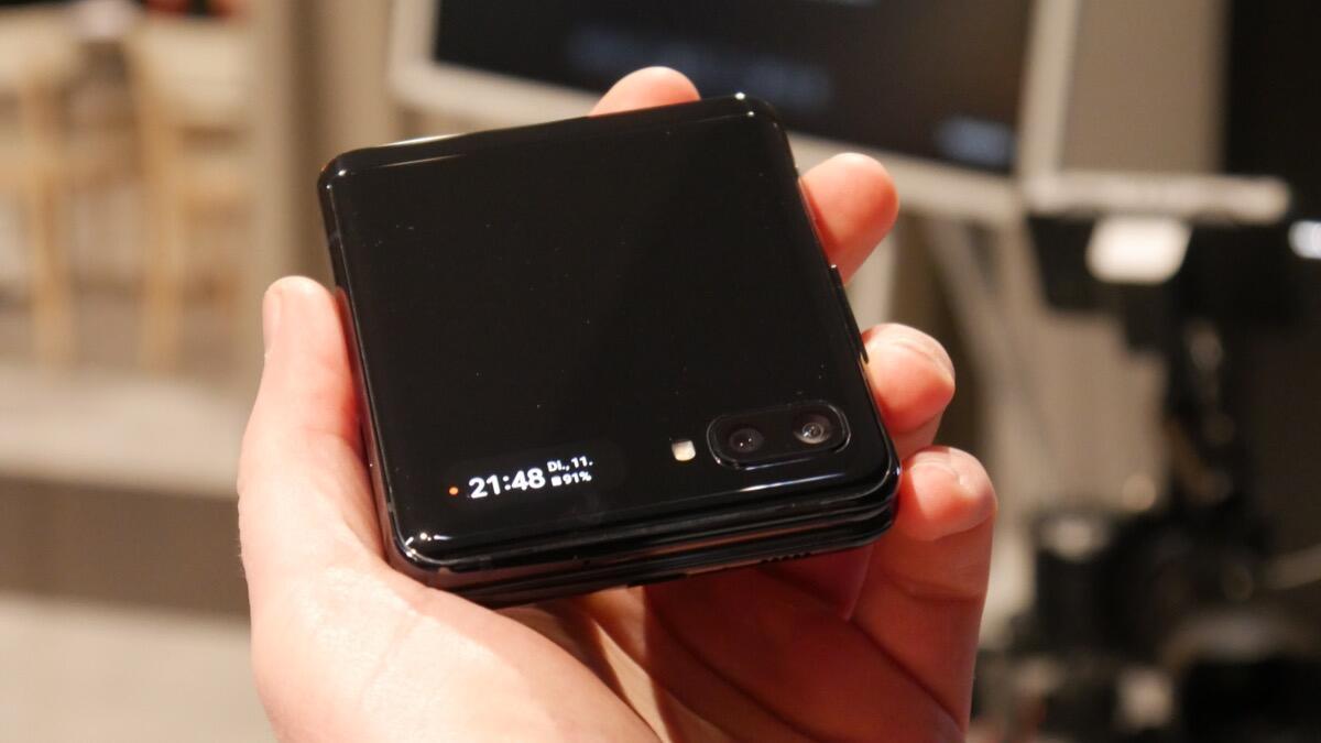Samsung Galaxy Z Flip Eindruck4