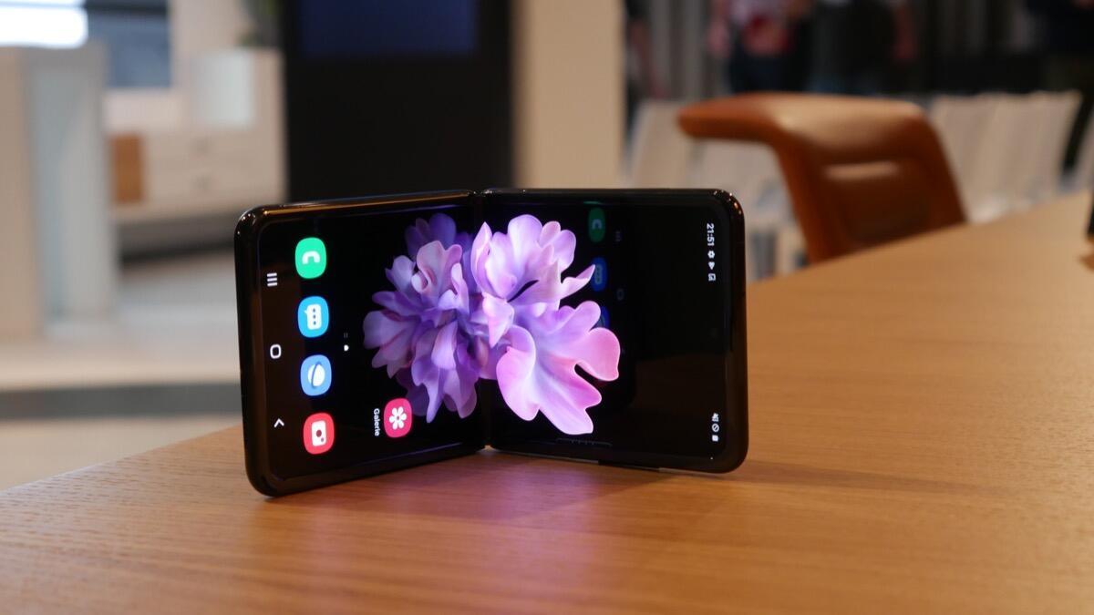 Samsung Galaxy Z Flip Eindruck5