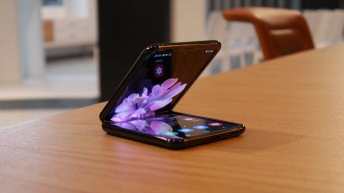 Samsung Galaxy Z Flip Eindruck6