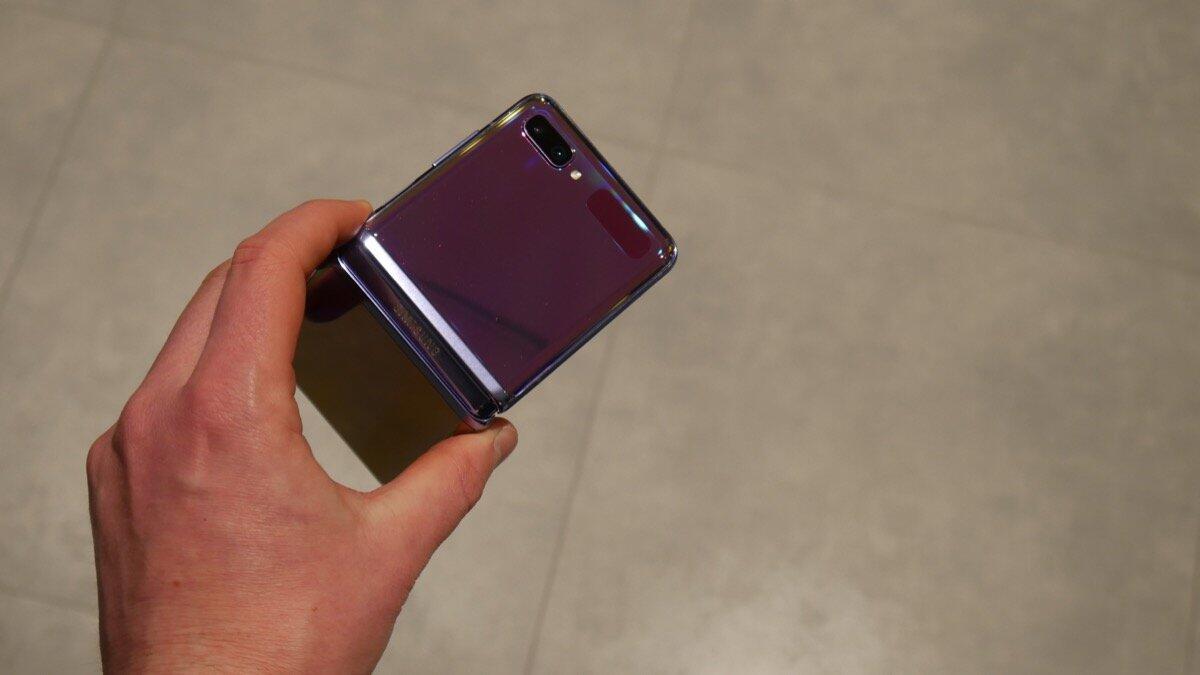 Samsung Galaxy Z Flip Eindruck7