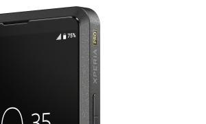 Sony Xperia Pro Branding