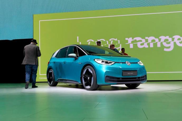 Vw Volkswagen Id Id3 Iaa Header