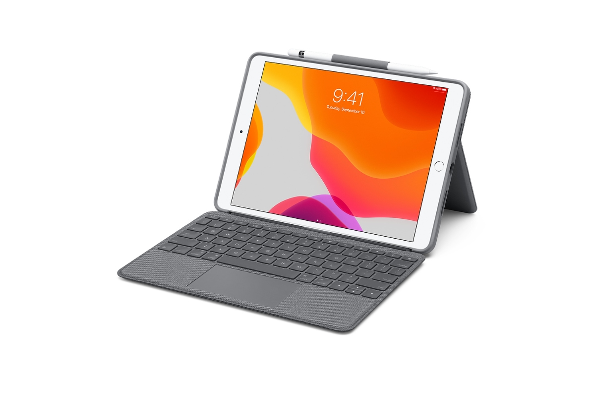 Apple Ipad Air Logitech Tastatur Trackpad Header