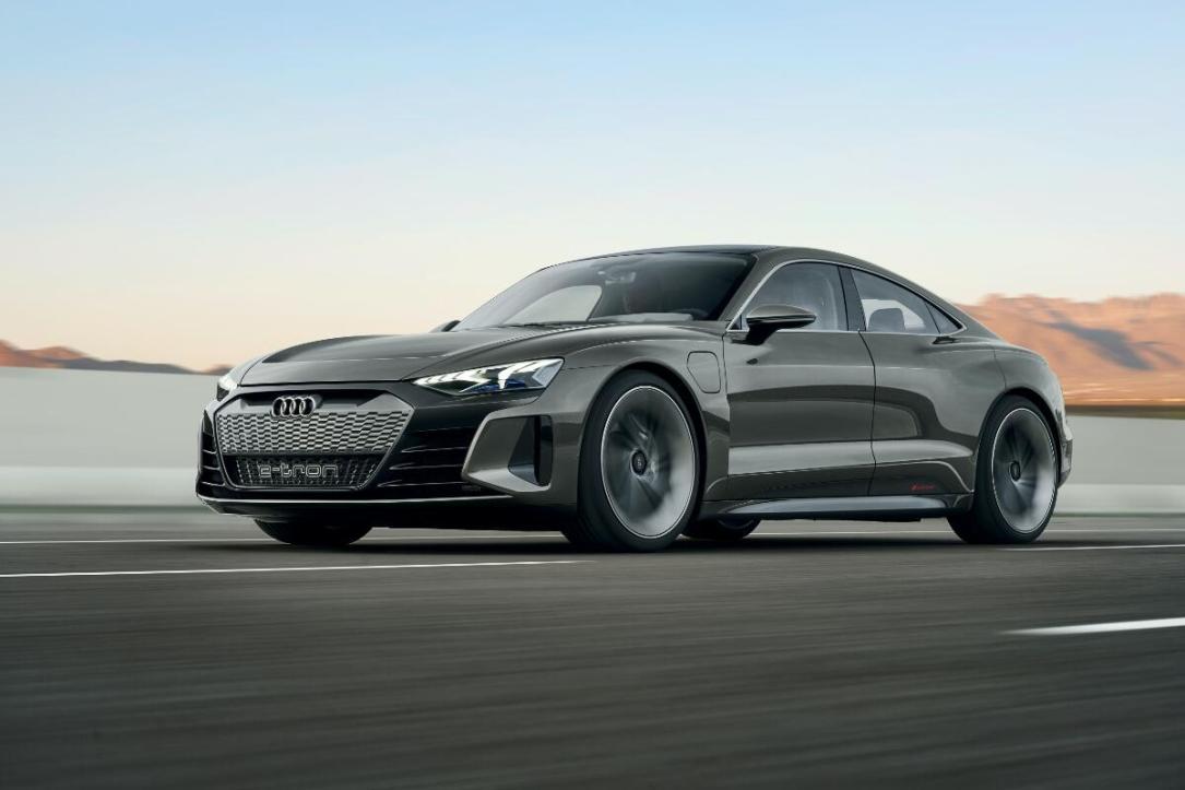 Audi E Tron Gt Front Header