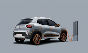 Dacia Spring Electric Back