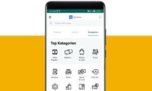 Huawei Appsuche Kategorien