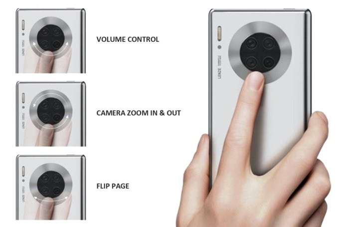 Huawei Mate 40 Pro Kamera Ring Patent