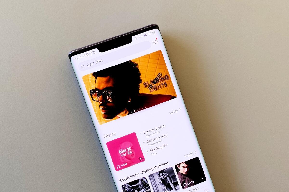 Huawei Musik Header