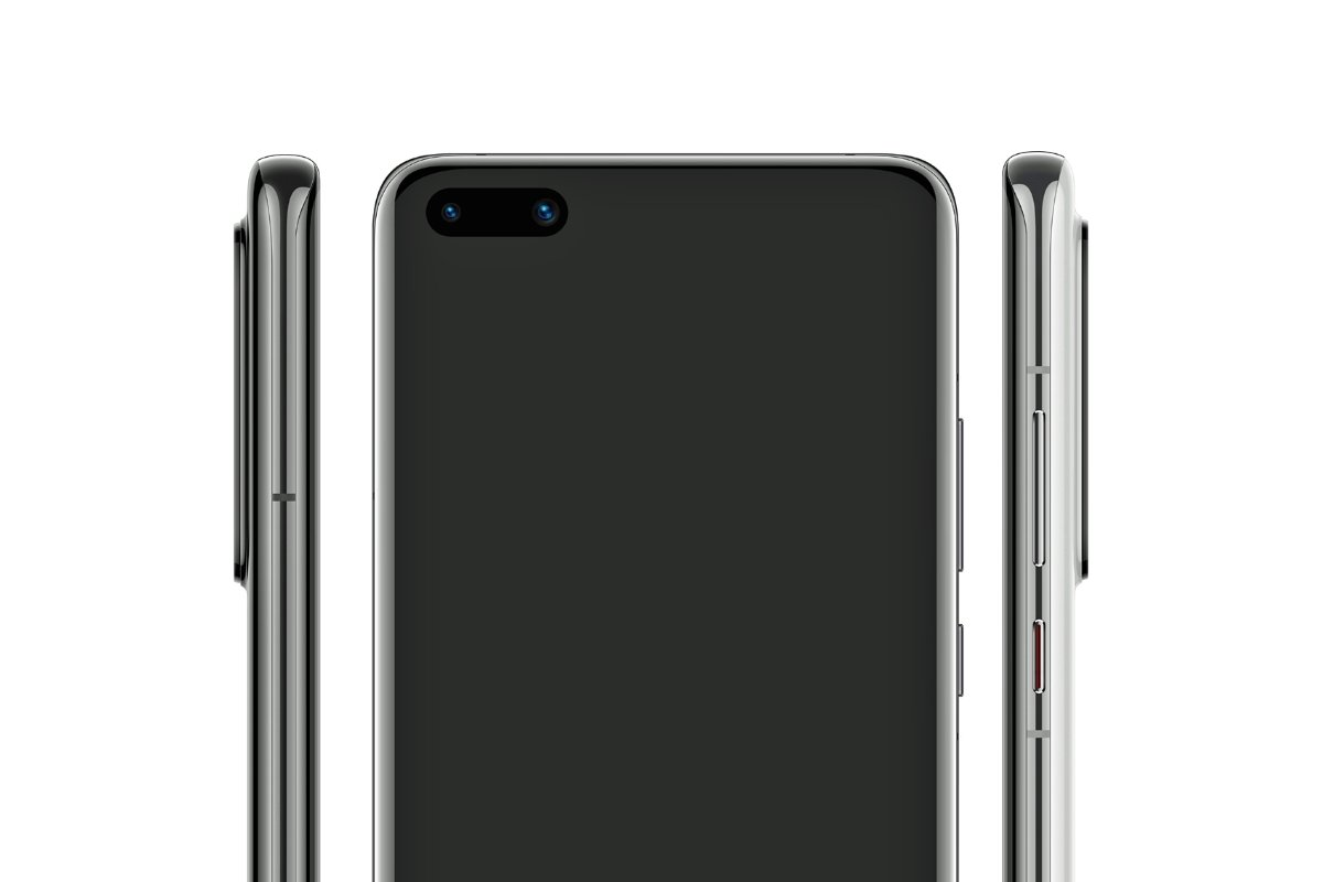 Huawei P40 Pro Front