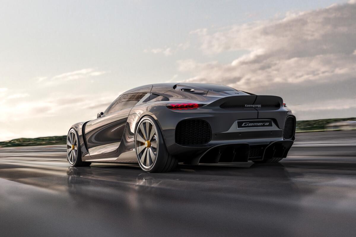 Koenigsegg Gemera Back