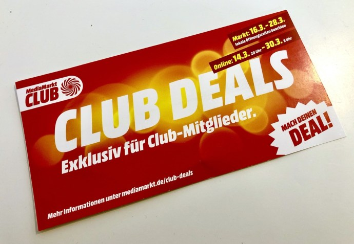 Mediamarkt Club Deals