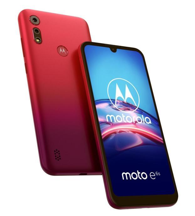 Motorola Moto E6s Rot (11)