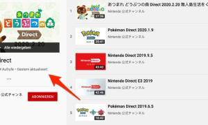 Nintendo Direct March 2020 Leak