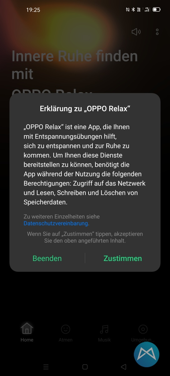 Oppo Find X2 Pro Relax App