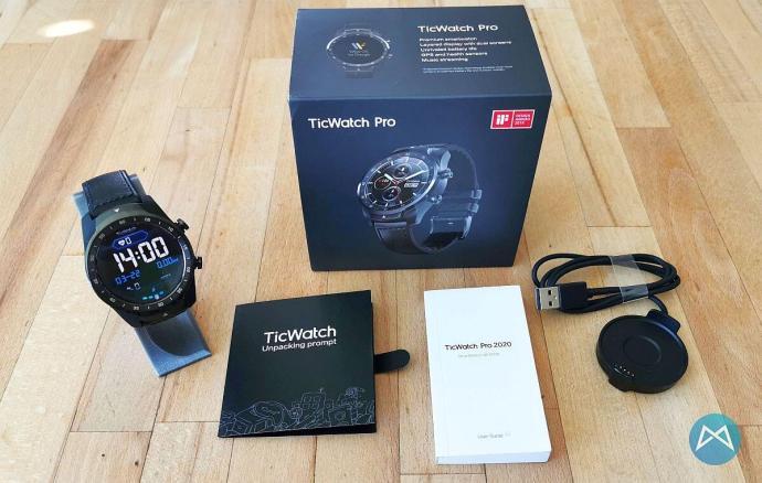 Ticwatch Pro 2020 Lieferumfang