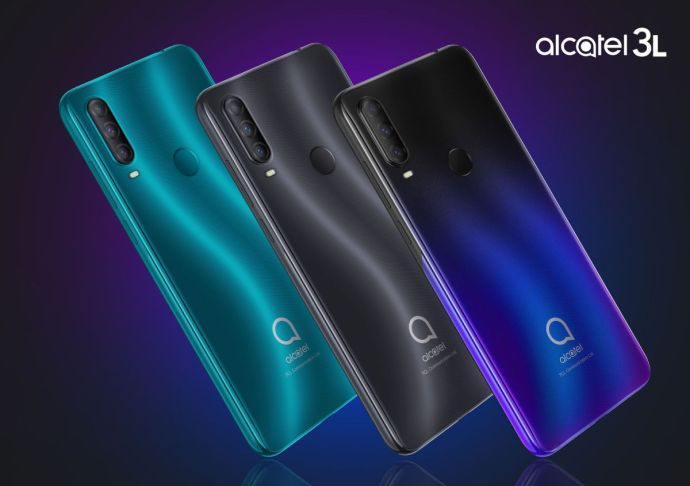 Alcatel 3l 2020 Colors