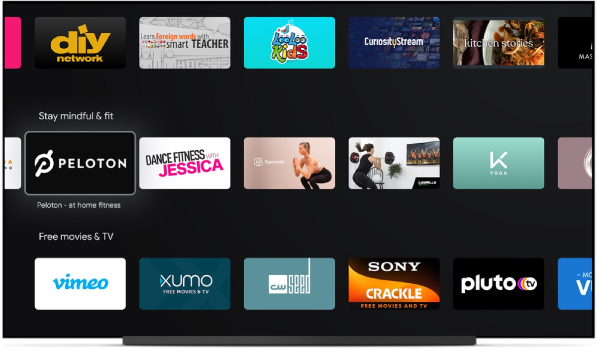 Android Tv Fitness