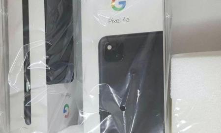 Google Pixel 4a Box