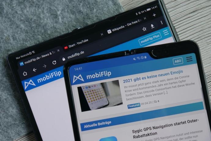 Huawei Mate Xs Samsung Galaxy Fold Test2