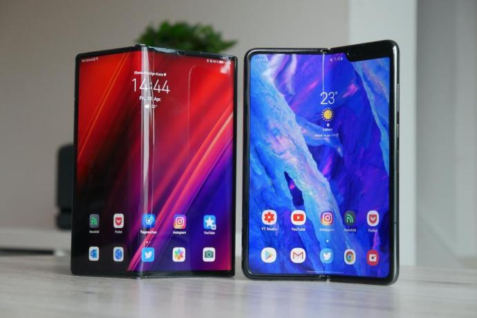 Huawei Mate Xs Samsung Galaxy Fold Test6