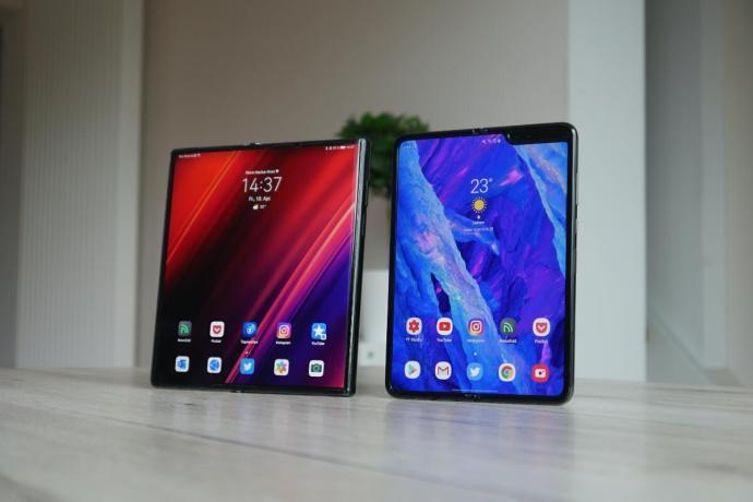 Huawei Mate Xs Samsung Galaxy Fold Test7