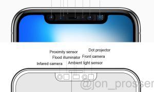 Iphone 12 Pro Notch Sensoren