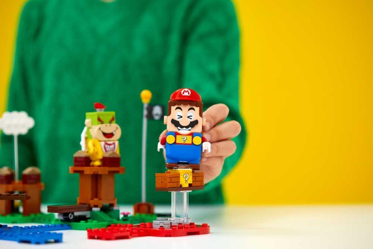 Lego Super Mario Figur