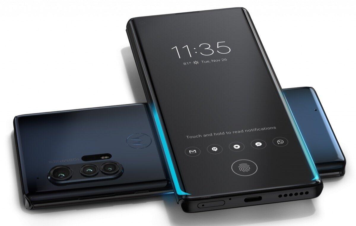 Motorola Edge Plus Qi