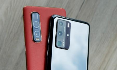 Oppo Find X2 Pro Huawei P40 Pro Header