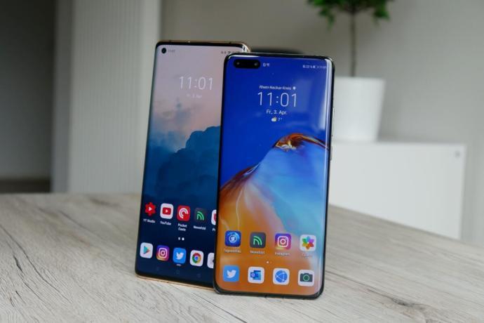Oppo Find X2 Pro Huawei P40 Pro Test2