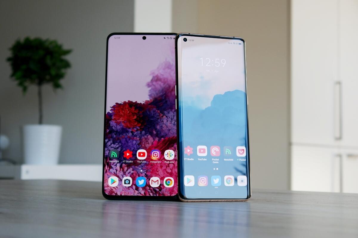 Flaggschiff-Jahr 2020: Samsung Galaxy S20 Ultra vs. Oppo Find X2 Pro