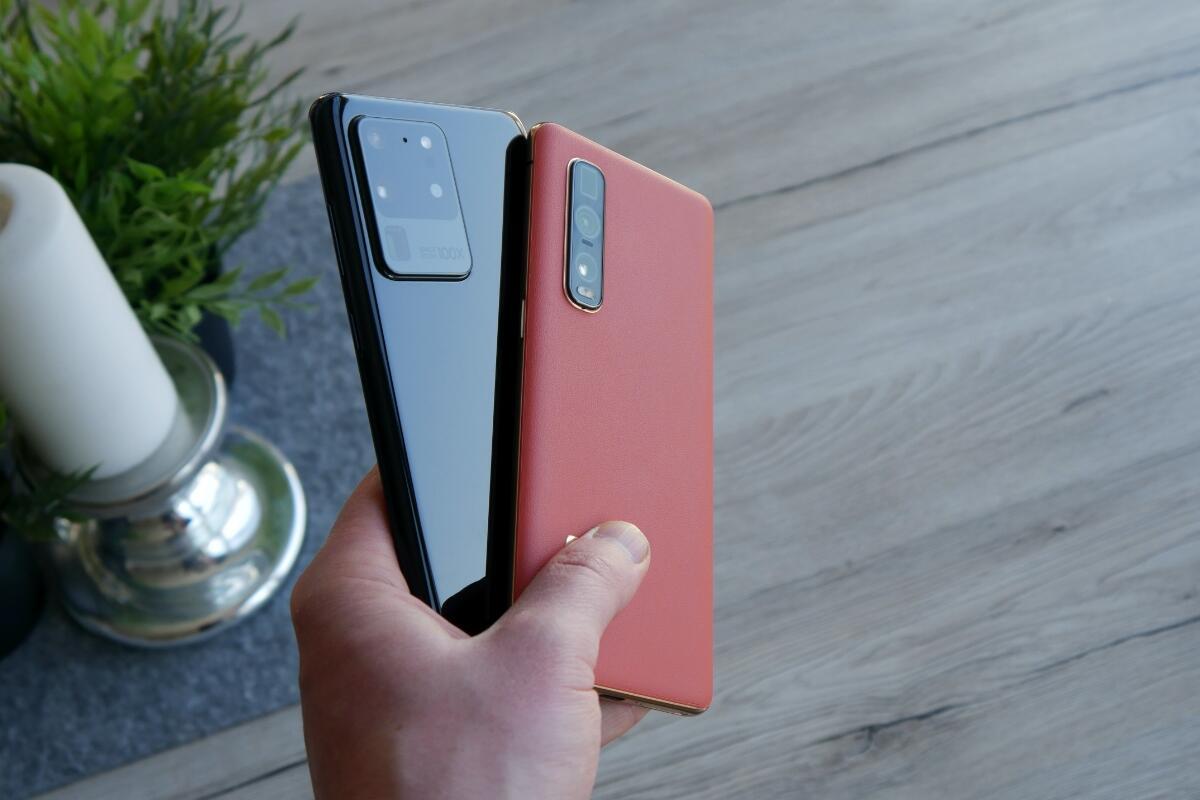 Samsung Galaxy S20 Ultra Oppo Find X2 Pro Test4