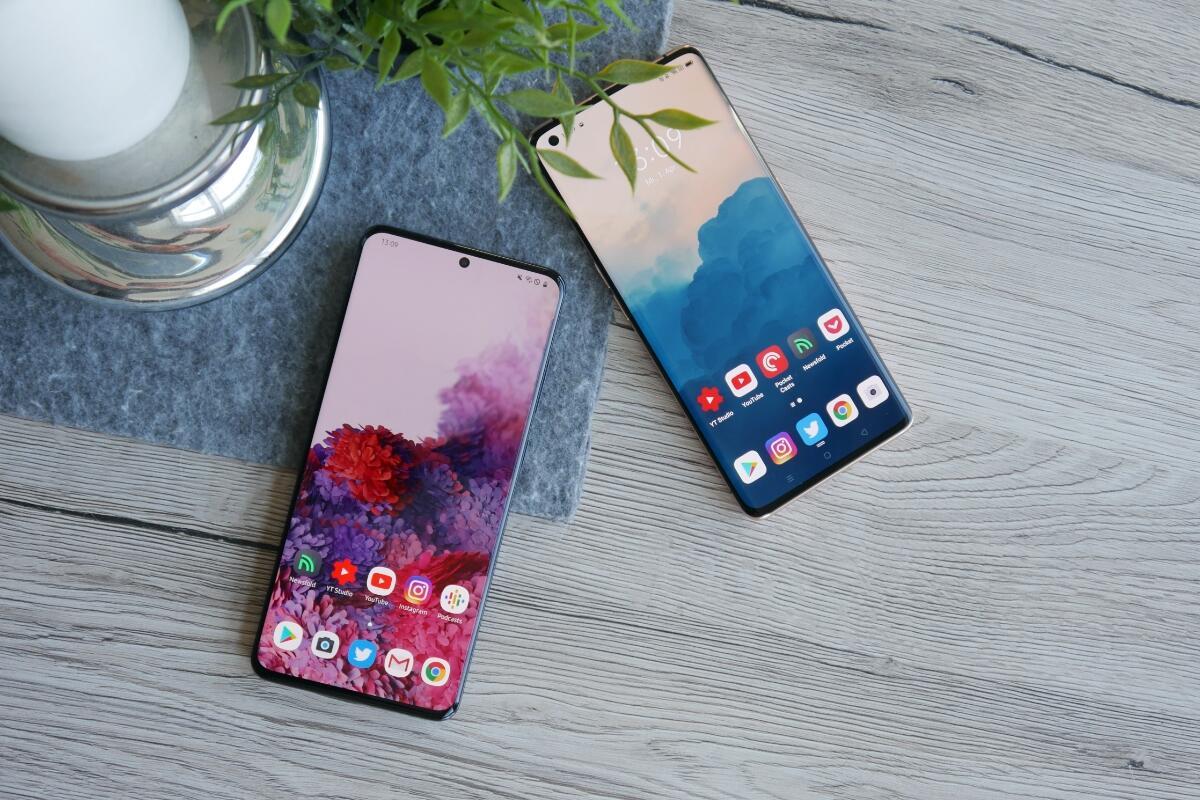 Samsung Galaxy S20 Ultra Oppo Find X2 Pro Test5