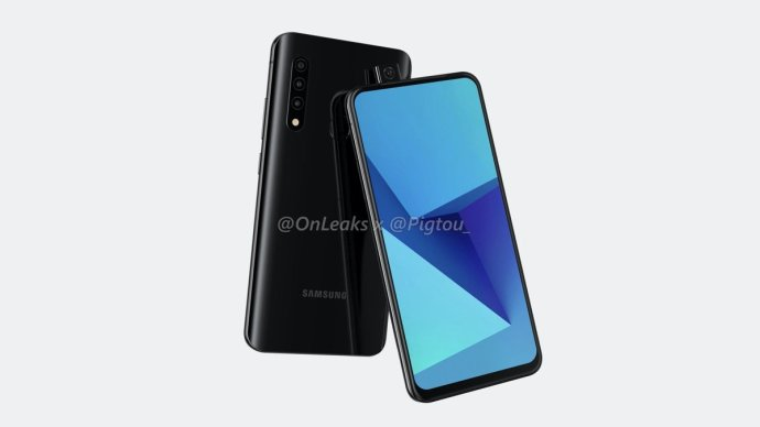 Samsung Pop Up Kamera Render