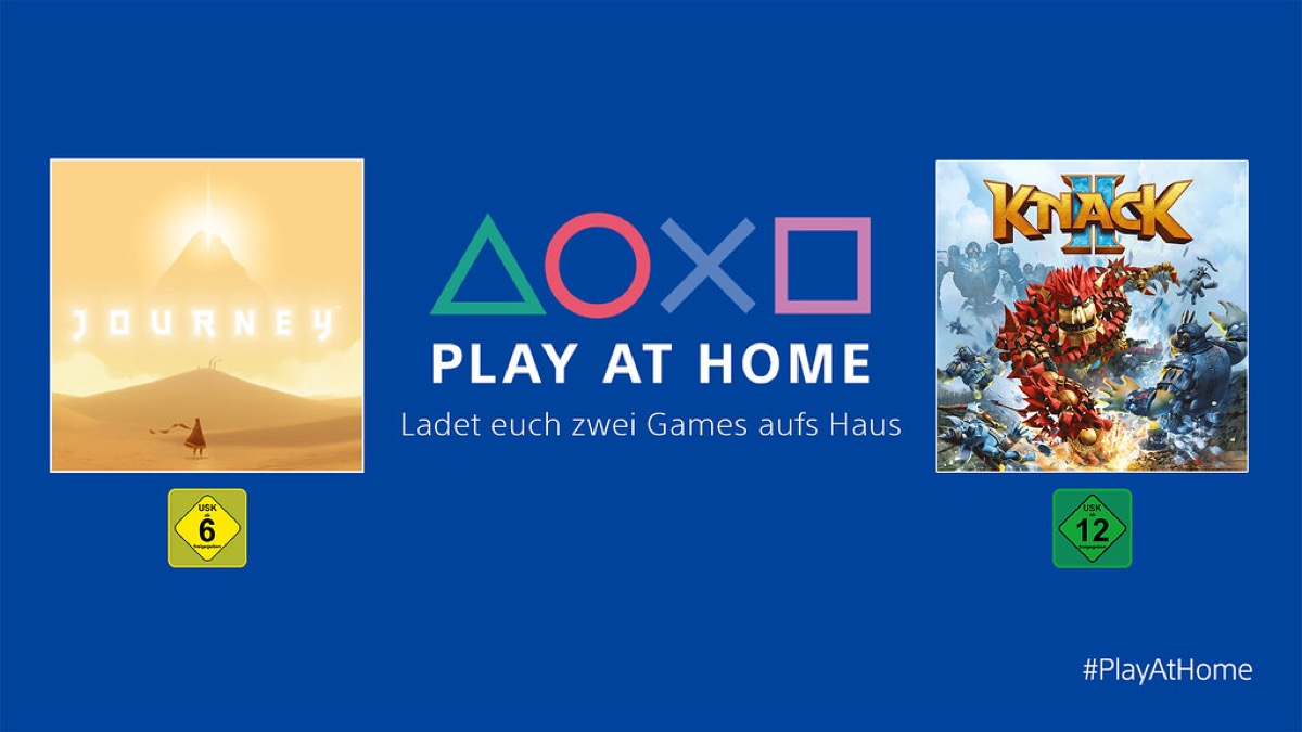 Sony Play At Home April