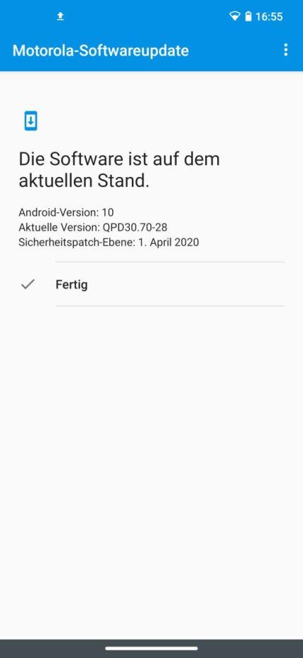 Android Version Motorola Edge