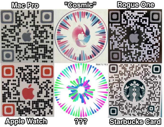 Apple Qr Ar Codes