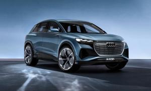 Audi Q4 Etron Front