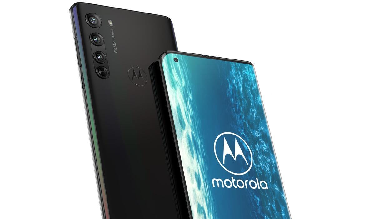 Motorola Edge Hedaer